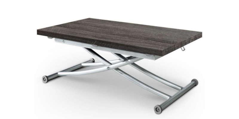 Mesa elevable y extensible de madera y metal barata baratas comprar precio precios online rebajas rebaja
